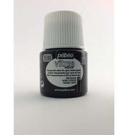 PEBEO VITREA GLOSS BLACK 45ML
