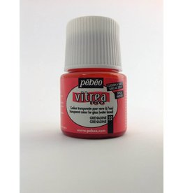 PEBEO VITREA FROSTED GRENADINE 45ML