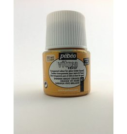 PEBEO VITREA SHIMMER BRIGHT ORANGE 45ML