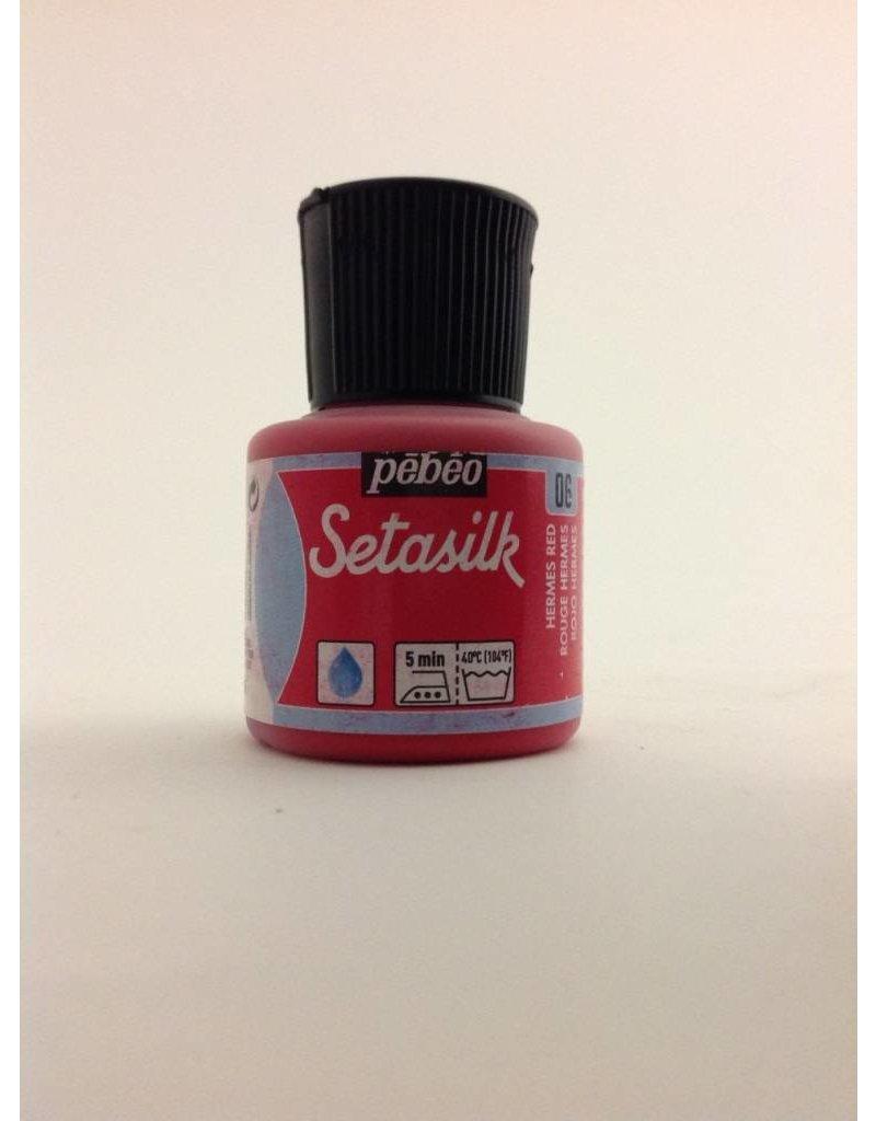 PEBEO SETASILK HERMES RED 45ML