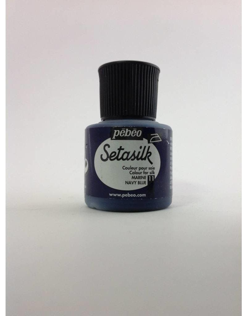 PEBEO SETASILK NAVY BLUE 45ML