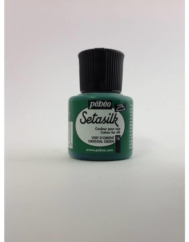 PEBEO SETASILK ORIENTAL GREEN 45ML