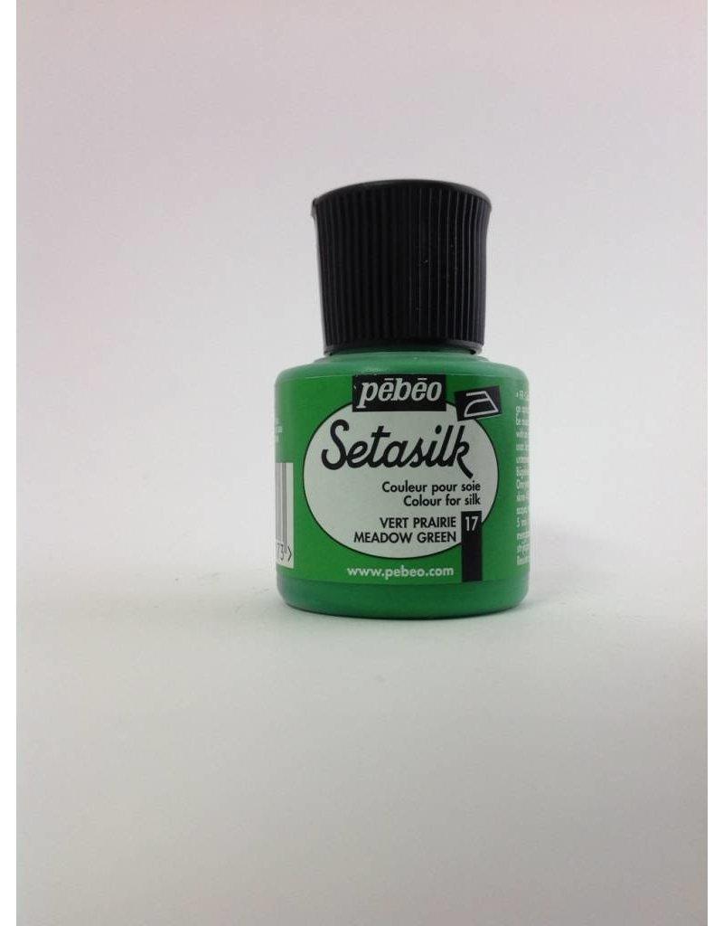 PEBEO SETASILK MEADOW GREEN 45ML
