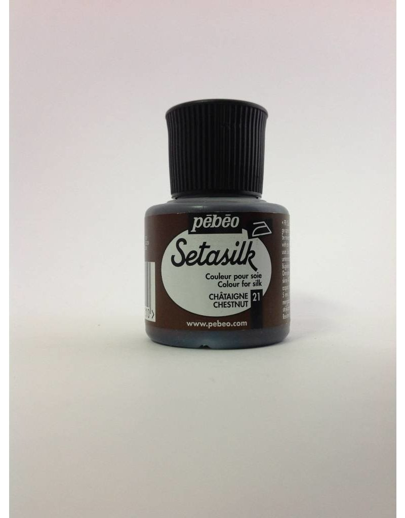 PEBEO SETASILK CHESTNUT 45ML