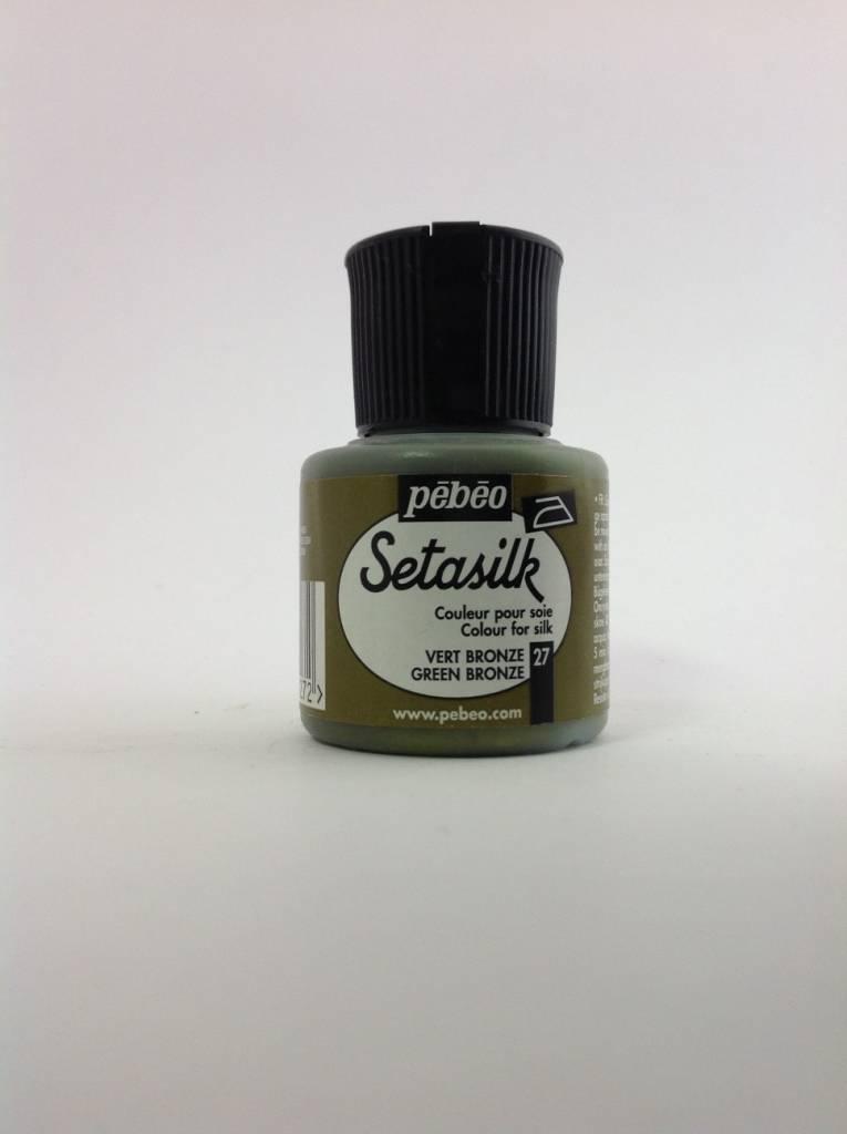 PEBEO SETASILK GREEN BRONZE 45ML