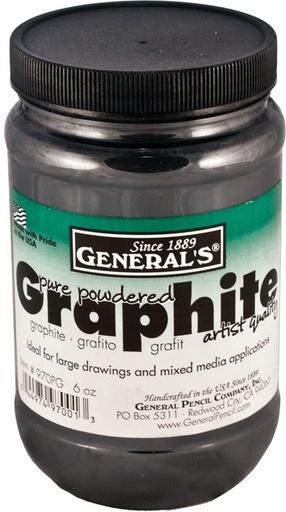 GENERAL PENCIL GENERAL'S POWDERED GRAPHITE 6OZ