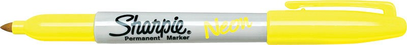 SANFORD SHARPIE NEON FINE POINT YELLOW