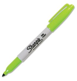 SANFORD SHARPIE FINE POINT LIME