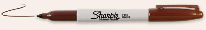 SANFORD SHARPIE FINE POINT BROWN