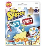 SANFORD MR. SKETCH SCENTED MARKERS MOVIE NIGHT SET/6