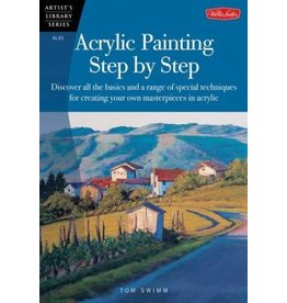 WALTER FOSTER WALTER FOSTER ACRYLIC PAINTING STEP BY STEP ARTIST'S LIBRARY SERIES