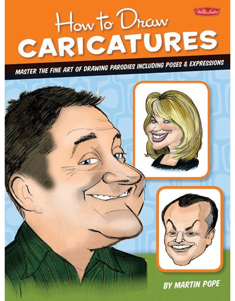WALTER FOSTER WALTER FOSTER HOW TO DRAW CARICATURES FOS-CAR1