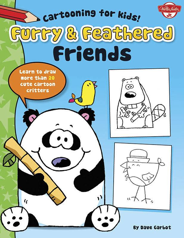 WALTER FOSTER WALTER FOSTER FURRY & FEATHERED FRIENDS CARTOONING FOR KIDS SERIES