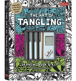 WALTER FOSTER WALTER FOSTER THE ART OF TANGLING DRAWING KIT