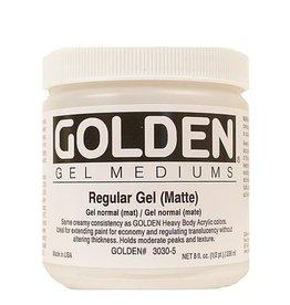 GOLDEN GOLDEN REGULAR GEL MATTE 8OZ