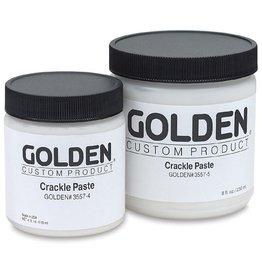 GOLDEN GOLDEN CRACKLE PASTE 8OZ
