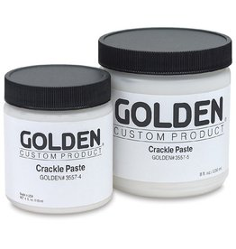 GOLDEN GOLDEN CRACKLE PASTE 16OZ
