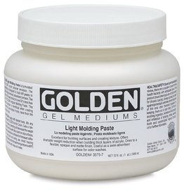 GOLDEN GOLDEN LIGHT MOLDING PASTE 16OZ