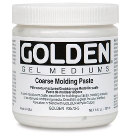 GOLDEN GOLDEN COARSE MOLDING PASTE 8OZ