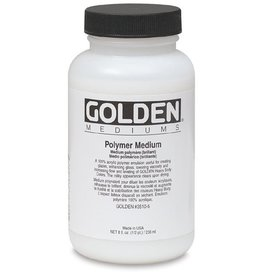 GOLDEN GOLDEN POLYMER MEDIUM 128OZ