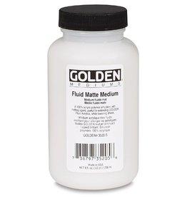 GOLDEN GOLDEN FLUID MATTE MEDIUM 128OZ