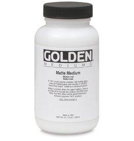 GOLDEN GOLDEN MATTE MEDIUM 128OZ