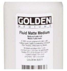 GOLDEN GOLDEN FLUID MATTE MEDIUM 16OZ