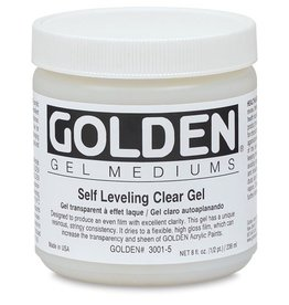GOLDEN GOLDEN SELF LEVEL CLEAR GEL 8OZ
