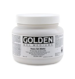 GOLDEN GOLDEN HEAVY GEL MATTE 128OZ