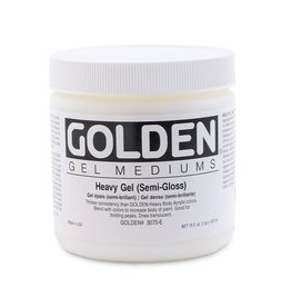 GOLDEN GOLDEN HEAVY GEL SEMI-GLOSS 16OZ