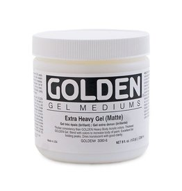 GOLDEN GOLDEN EXTRA HEAVY GEL MATTE 8OZ
