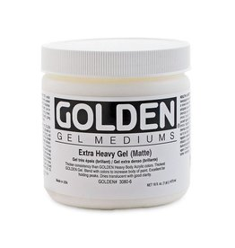 GOLDEN GOLDEN EXTRA HEAVY GEL MATTE 16OZ
