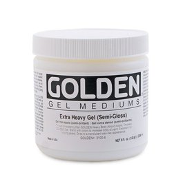 GOLDEN GOLDEN EXTRA HEAVY GEL SEMI-GLOSS 8OZ