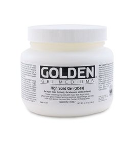 GOLDEN GOLDEN HIGH SOLID GEL GLOSS 128OZ
