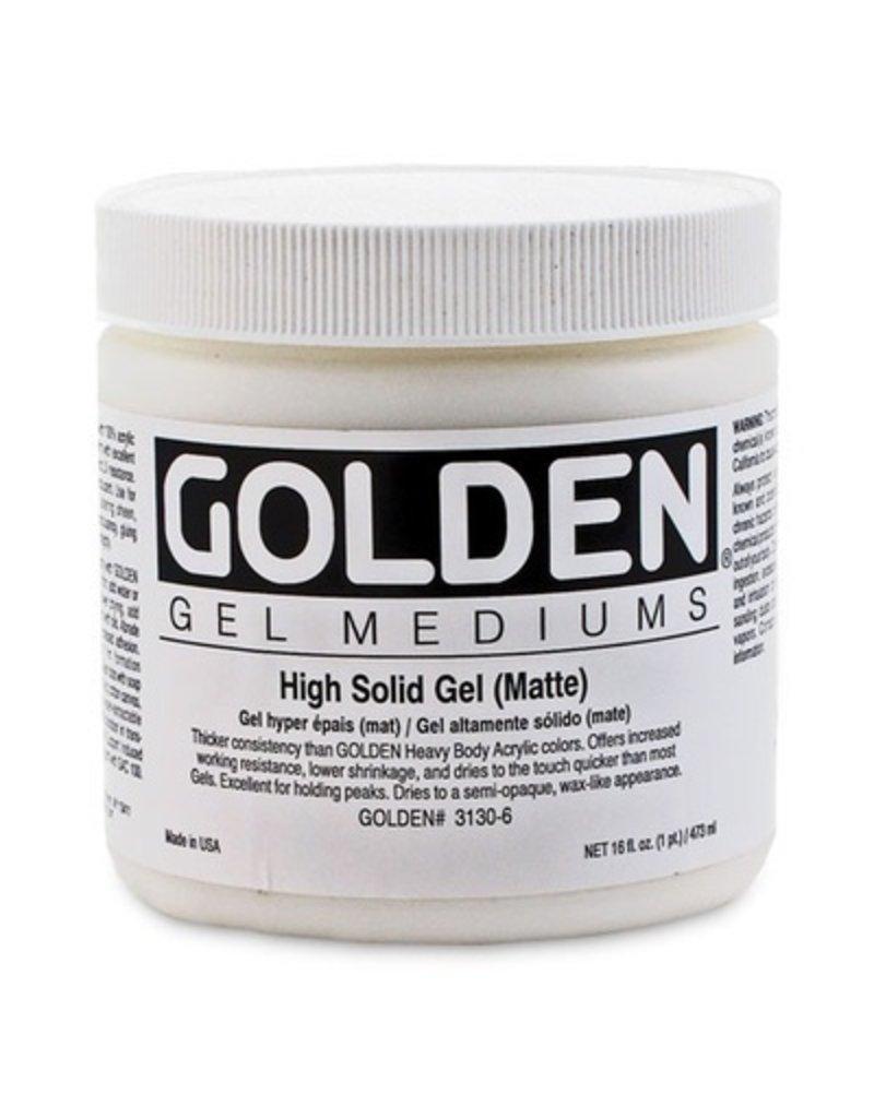 GOLDEN GOLDEN HIGH SOLID GEL MATTE 16OZ