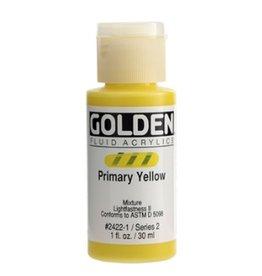 GOLDEN GOLDEN FLUID ACRYLIC PRIMARY YELLOW 1OZ