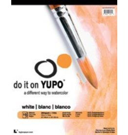 LEGION YUPO WATERCOLOUR PAPER PAD 9X12    YUP-197WH912