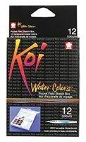 SAKURA KOI POCKET FIELD SKETCH BOX W/ WATERBRUSH SET/36