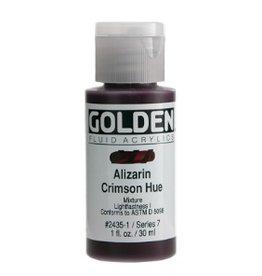 GOLDEN GOLDEN FLUID ACRYLIC ALIZARIN CRIMSON HUE 4OZ