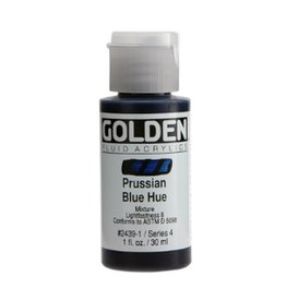 GOLDEN GOLDEN FLUID ACRYLIC PRUSSIAN BLUE 4OZ