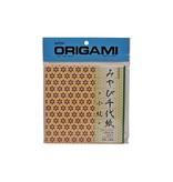 AITOH AITOH ORIGAMI PAPER GEMOTERIC PATTERN MIYABI CHIYOGAMI KOMON 48/PK