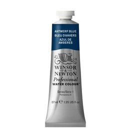 WINSOR NEWTON WINSOR & NEWTON PROFESSIONAL WATERCOLOUR ANTWERP BLUE 37ML