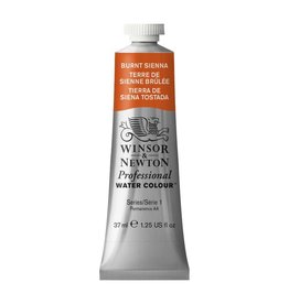 WINSOR NEWTON WINSOR & NEWTON PROFESSIONAL WATERCOLOUR BURNT SIENNA 37ML