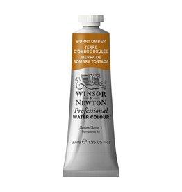 WINSOR NEWTON WINSOR & NEWTON PROFESSIONAL WATERCOLOUR BURNT UMBER 37ML