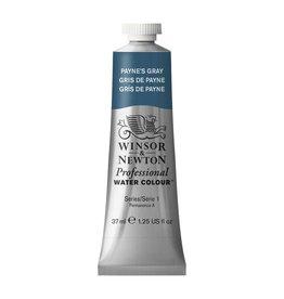 WINSOR NEWTON WINSOR & NEWTON PROFESSIONAL WATERCOLOUR PAYNE'S GRAY 37ML