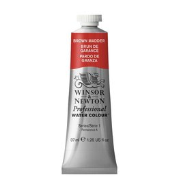 WINSOR NEWTON WINSOR & NEWTON PROFESSIONAL WATERCOLOUR BROWN MADDER 37ML