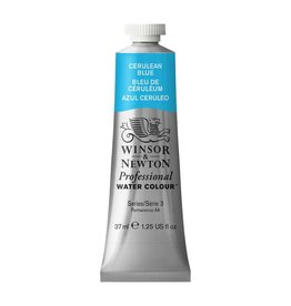 WINSOR NEWTON WINSOR & NEWTON PROFESSIONAL WATERCOLOUR CERULEAN BLUE 37ML
