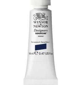 WINSOR NEWTON WINSOR & NEWTON DESIGNERS GOUACHE INDIGO 14ML