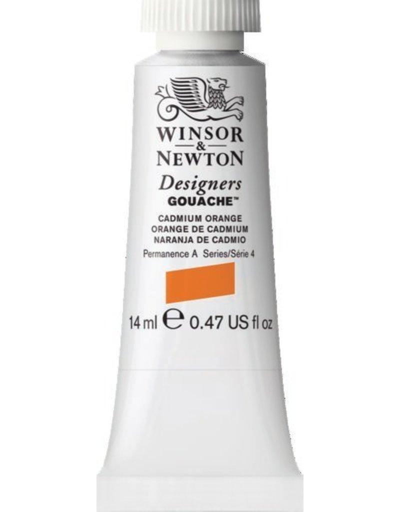 WINSOR NEWTON WINSOR & NEWTON DESIGNERS GOUACHE CADMIUM ORANGE 14ML