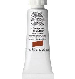 WINSOR NEWTON WINSOR & NEWTON DESIGNERS GOUACHE BURNT SIENNA 14ML